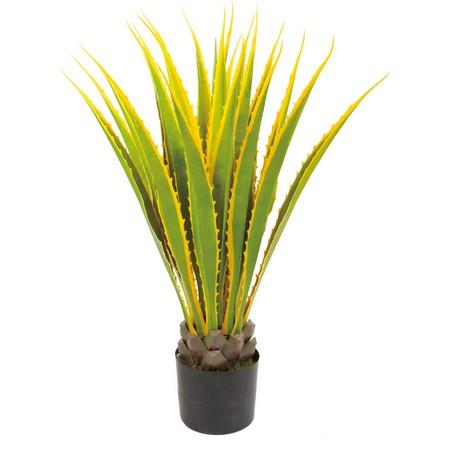 【直送】【人工観葉植物】YDM/イエローアガベ/GLP1483※返品・代引・キャンセル不可【01】