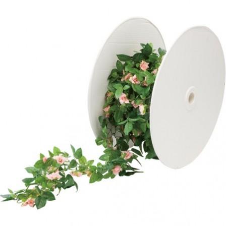 【造花】YDM/ローズPチェーン(1M) /GLA1187|造花 バラ【01】【01】【取寄】[30M]《 造花(アーティフィシャルフラワー) 造花 花材「は行」 バラ 》