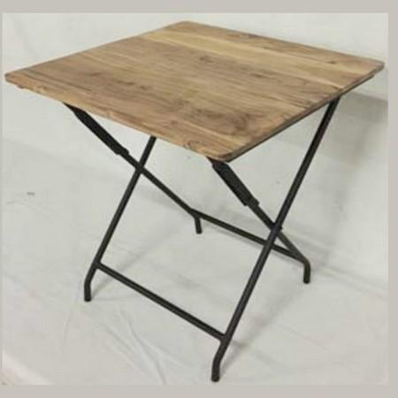 SPICE/ANCIENT FOLDING TABLE/KRFG5020【01】【取寄】《 店舗ディスプレイ 家具・収納 テーブル 》