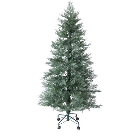 大特価◎【造花】YDM/180cmキラキラスノーツリー/CAA146【01】【取寄】《 店舗ディスプレイ クリスマス飾り クリスマスツリー 》