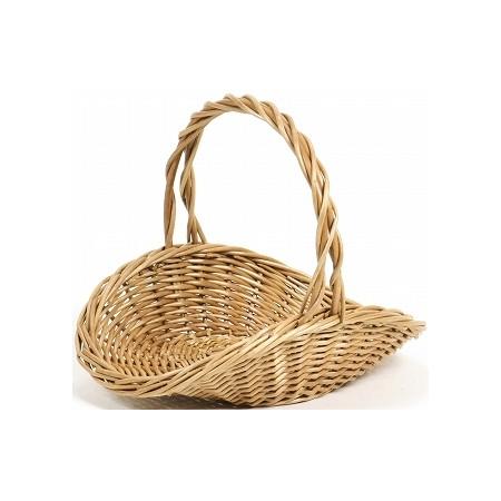 花器 花瓶 バスケット(花かご) おしゃれ インテリア 即日 SG Wonder zone/煮柳浅皿手付L/307-416花器、リース 花器・花瓶 バスケット(花かご) 手作り 材料