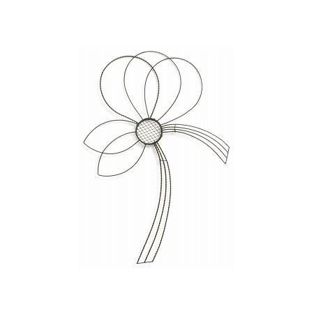 花器 花瓶 買収 ワイヤー花器 おしゃれ インテリア SG Wonder zone 材料 01 515-429B リース 手作り 誕生日/お祝い 取寄 華の舞水引きS