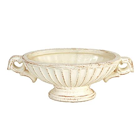 花器 花瓶 陶器 おしゃれ インテリア 一輪挿し 即日 東京堂 イルマーレオーバルS アイボリー CX000172-013花器 手作り 年末年始大決算 リース #13 倉 陶器花器 材料