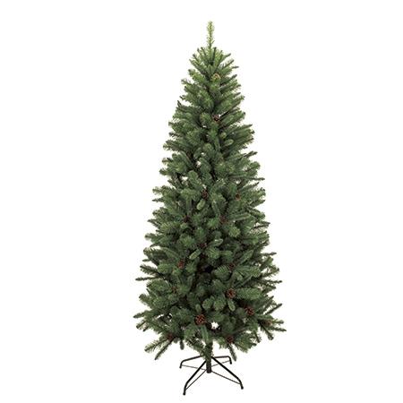 【造花】東京堂/スリムコーンツリー6.5F /XV020365【01】【取寄】《 店舗ディスプレイ クリスマス飾り クリスマスツリー 》
