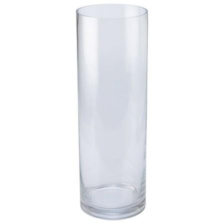 松野ホビー/ 即日 FR-548 ストレートラウンドポット (2L) / 《 花器、リース 花器・花瓶 ガラス花器 》