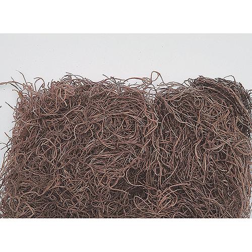 【ドライ】東北花材/スパニッシュモス大袋 ブラウン 約1kg/71241【01】【01】【取寄】