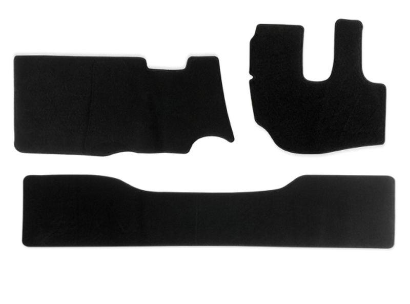 内装パーツ デュトロ ダイナ トヨエース 平成11年5月- 標準 ダブルキャブ PA-TFM2122-BK ブラック + フロアマット 黒 リア フロント 激安超特価 お得セット