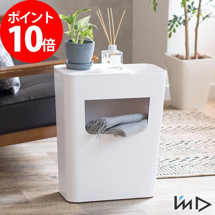 サイドテーブル ナイトテーブル エノッツ ENOTS サイドワゴン キャスター付き 収納 ホワイト 日本製