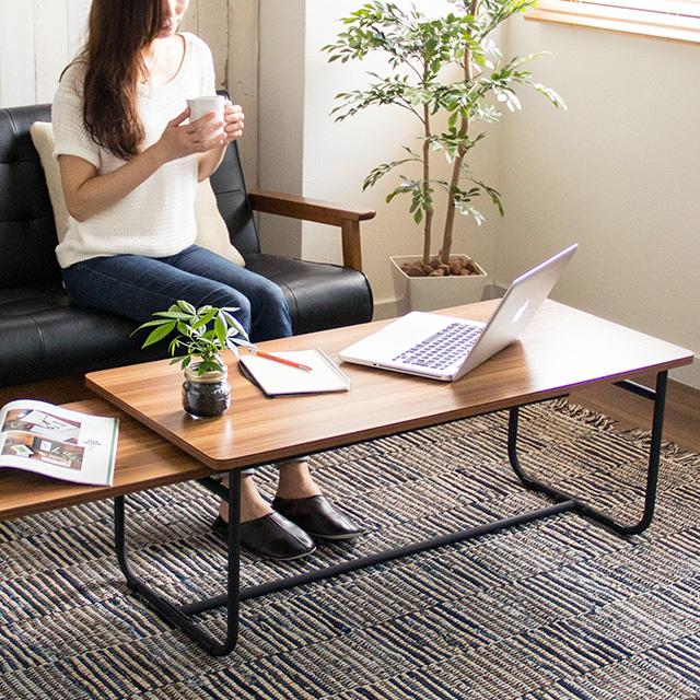 Muuth ムース 伸縮テーブル MUET-105 スチール 幅105~169cm 組立品
