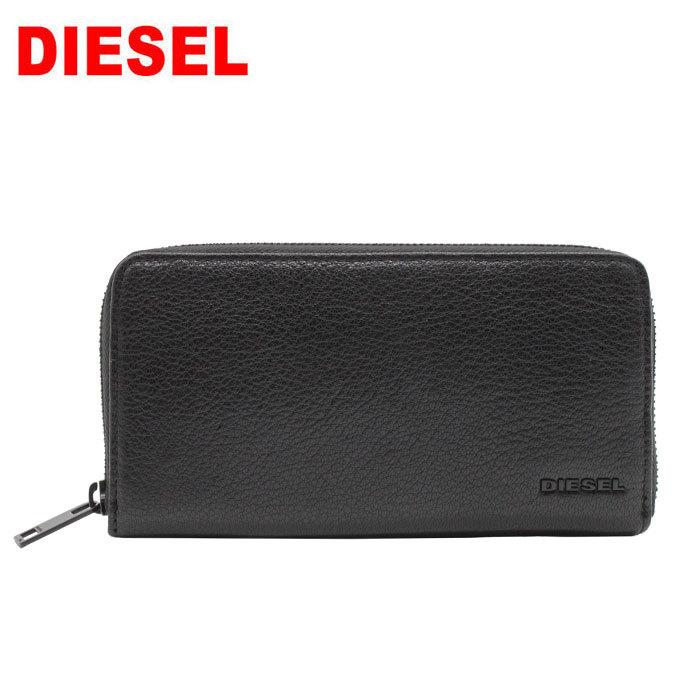 DIESEL 長財布 X06641 P3043 H1389 ディーゼル ラウンドファスナー 財布 ブラック BLACK メンズ レディース ブランド ag-275000