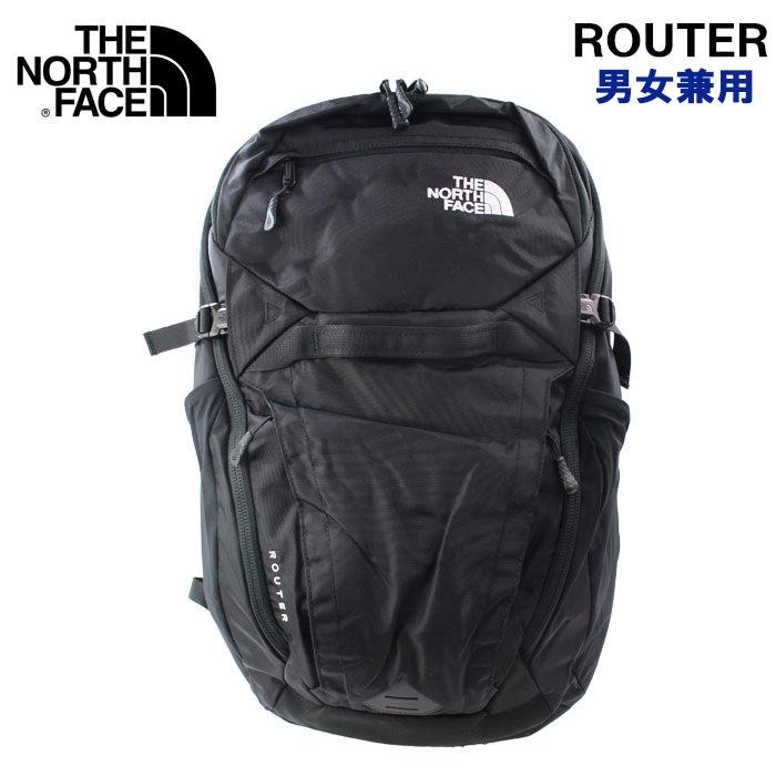 THE NORTH FACE リュック ROUTER ルーター NF0A3ETUJK3 ザ・ノース・フェイス BLACK ブラック リュックサック ノースフェイス バックパック 男女兼用 ブランド ag-1807