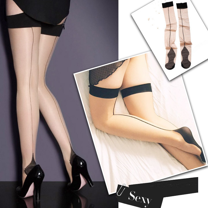 04d3e568d27e7 ... Knee high stockings very bold! 499 Yen just a net tights sexy underwear  sexy lingerie ...