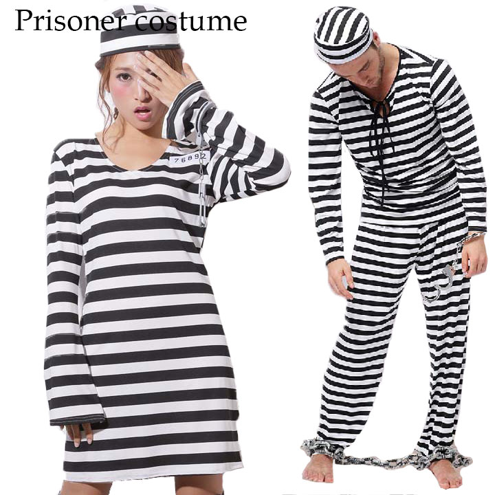 great halloween costume prisoner clothes prisoner prisoners prisoner clothing cosplay costumes prison costume size costume adult men women men women with