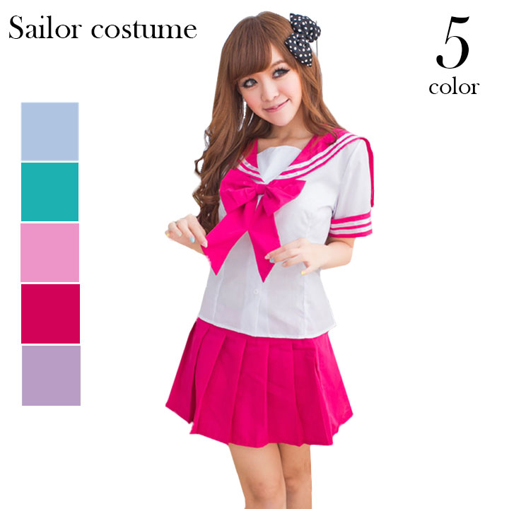 96626aa585b Cosplay Halloween sailor clothing sailor costume costume sexy schoolgirl  mood live thigh Clos schoolgirl Santa students ...