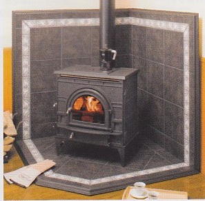Floor Of Majestic Dutch West [luxury Imports Wood Stove Accessories Parts:  Floor U0026amp;