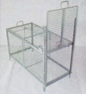 ★【捕獲器 特注型 】700X1325X1200(全高1570) スチール製 動物