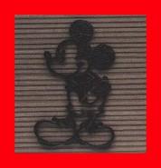 ★【送料無料】 ディズニー キャラクターシリーズ 【ミッキーマウス シングルタイプ】 アルミ製 外装エクステリア 外壁・玄関近く・門のブロックや柱に モチーフにした壁飾り 装飾部材 Mickey  Disney】