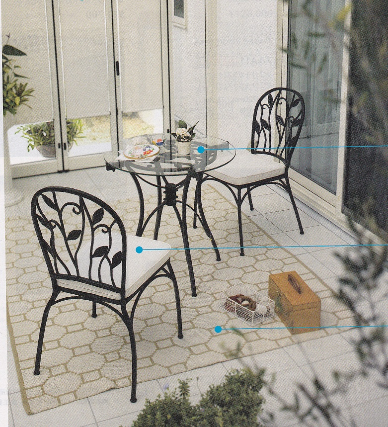 【期間限定ポイント2倍】★【最安値挑戦】家具テーブル&チェアの3点セット!<ポリーテテーブルA11(ブラック+ガラス クリア)、ポリーテチェアA11椅子クッション付き>インテリア家具