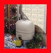 【最安値挑戦】<送料無料>Panasonic MQW102 小型雨水貯水タンク『雨ためま専科110本体+一般たてとい接続キット』パナソニック電工のミニ雨水タンク110L 小さくて節水でエコ(Eco)!家庭用ガーデニングやフーデニング】