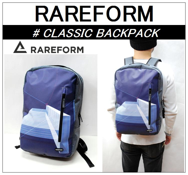 【RAREFORM/レアフォーム】-CLASSIC BACKPACK C/クラシックバックパック C-