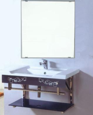 大人気!陶器洗面化粧台H-8202(在庫あり!)