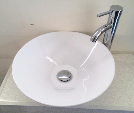 陶器洗面ボウルH-1847A