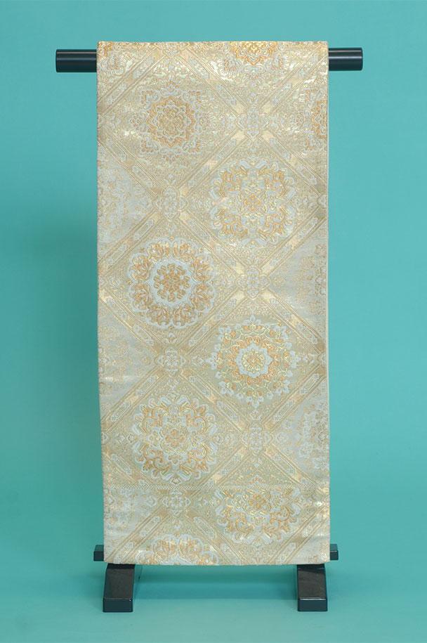 留袖用着物レンタルフルセット用帯(留袖用):obi018【レンタル】