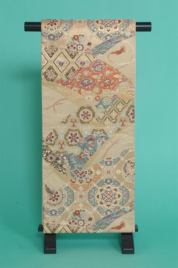 留袖用着物レンタルフルセット用帯(留袖用):obi020【レンタル】