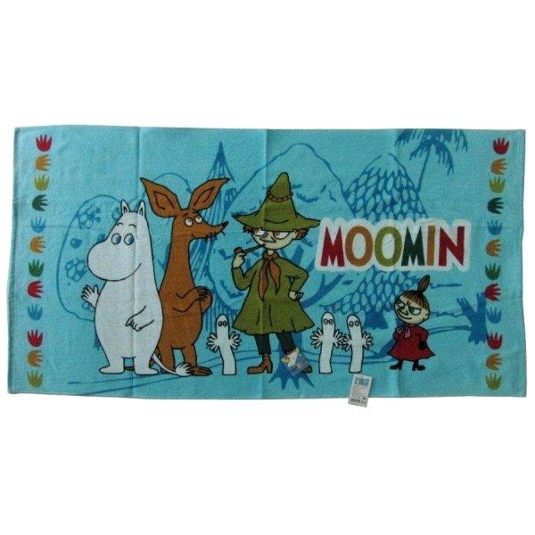 Moomin bus towel