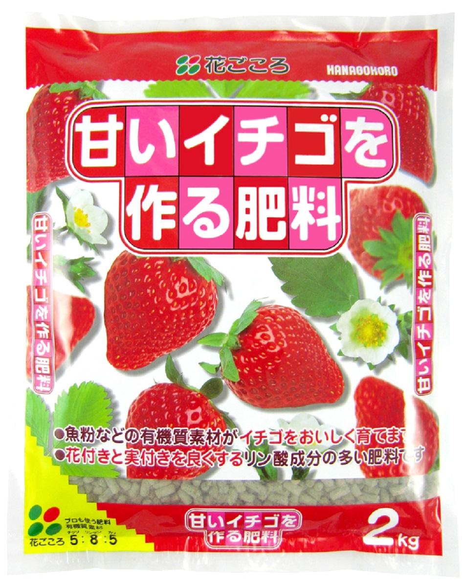 限定特価 いちご イチゴ 肥料 有機質イチゴの肥料 甘いイチゴを作る肥料 家庭菜園プランター栽培 人気ショップが最安値挑戦 2kg花ごころ