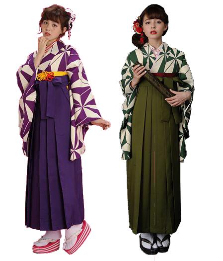 【newyear_d19】 袴 二尺袖 着物 袴 セット 加藤ナナ 着用 全2タイプ M・Lサイズ