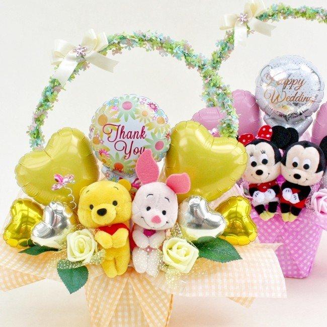 お誕生日 開店祝 周年祝 母の日 のギフトへ スヌーピー バルーン フラワー 電報 祝電 ディズニー プーさん プリンセス 結婚式 ぬいぐるみ ギフト