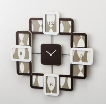 掛け時計クロックフレーム2結婚祝い インテリア 楽ギフ_包装