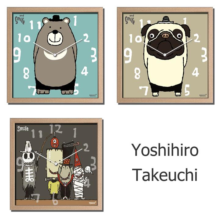 掛け時計 結婚祝いディスプレイクロック/Yoshihiro Takeuchi/武内 祐人 時計 Clock インテリア