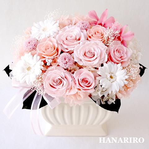 【チェリーブロッサム】 プリザーブドフラワー お祝い 誕生日祝い 開業祝い 法人 ギフト 送料無料 プレゼント 花 贈り物 ブリザードフラワ- お花 プリザ