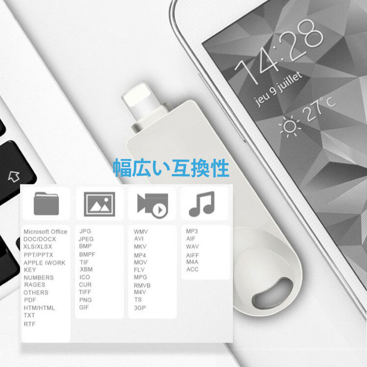 iphone usb memory iOS Android Mac iPad iPadPro Windows tablet-adaptive data  transmission iOS Micro USB memory expansion data sharing many models