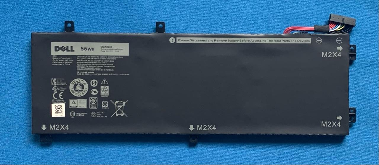 純正 新品 DELL XPS 15 等用 期間限定の激安セール ハイクオリティ 9560 H5H20 バッテリー