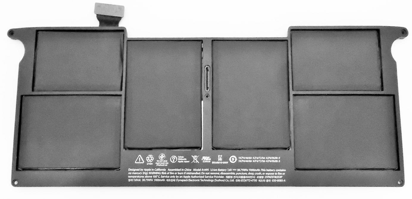 バッテリ:純正新品Apple製MacBook 限定タイムセール Air等用 送料込 A1495 国内発送