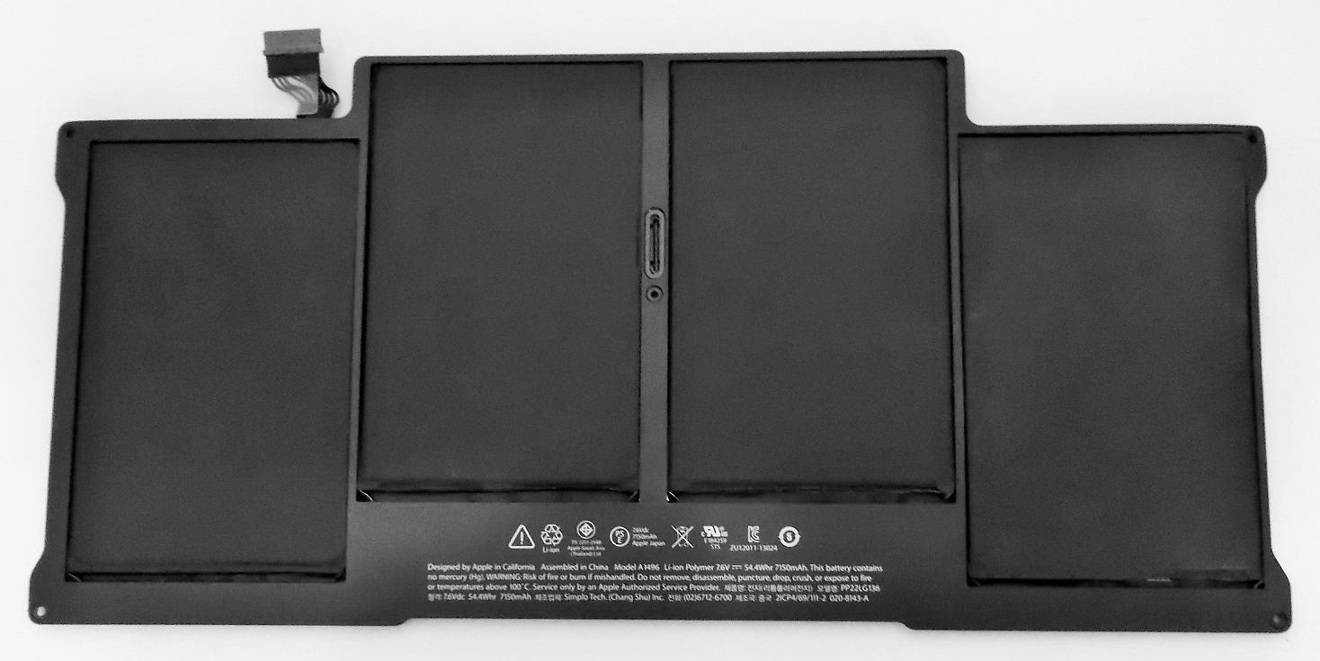 早割クーポン バッテリー:純正新品Apple製MacBook Air等用 40%OFFの激安セール 国内発送 A1496