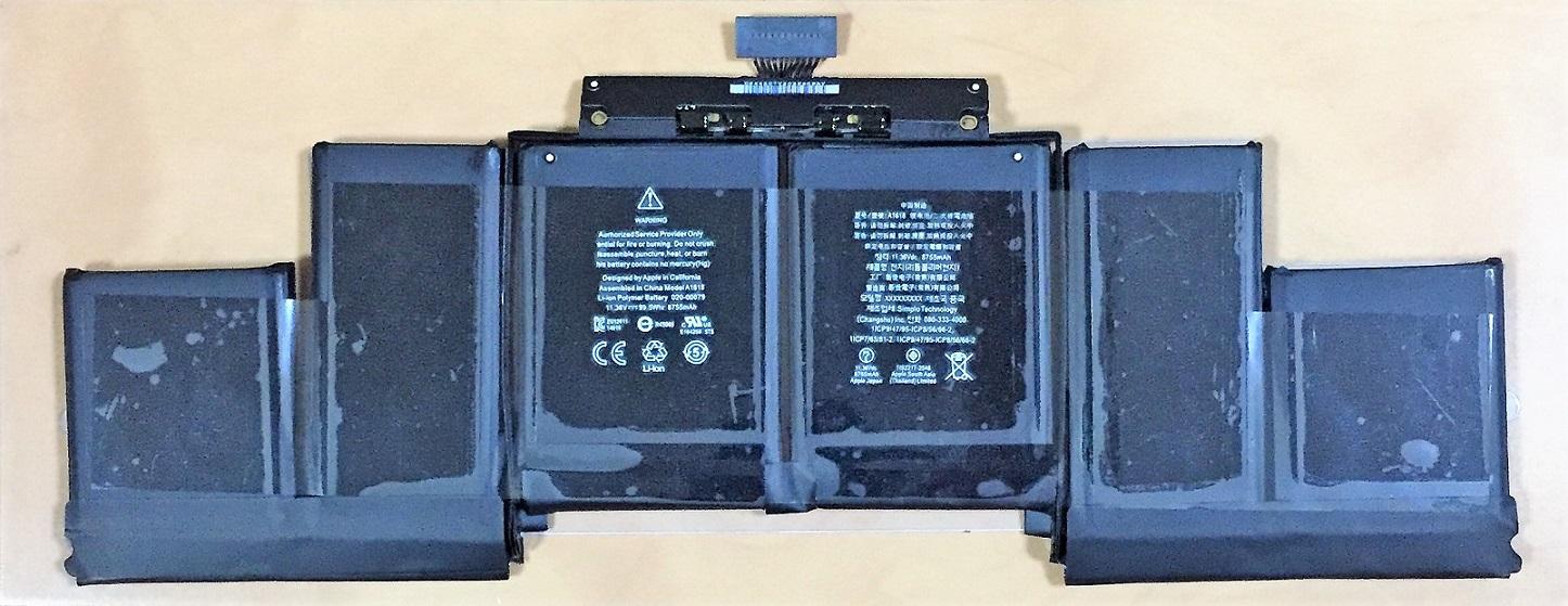バッテリ:純正新品Apple製MacBook Pro 15