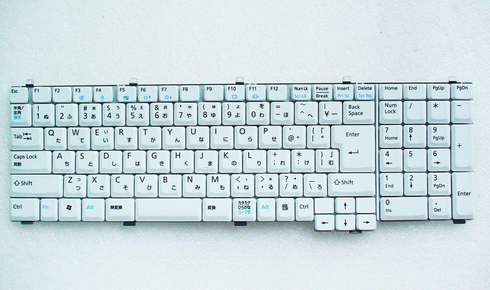 キーボード:新品富士通ノートPC用(CP212272-03)白,AEAW1JTJ013