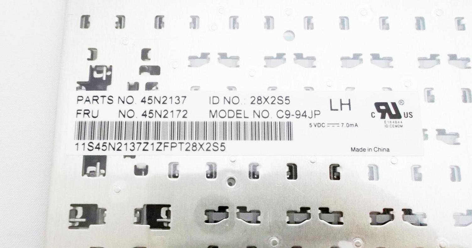 Hanashinshop Keyboard Brand New Ibm Lenovo For 510 X220 T410 T510 Thinkpad T400s T420 T520 W510 W 45n2172