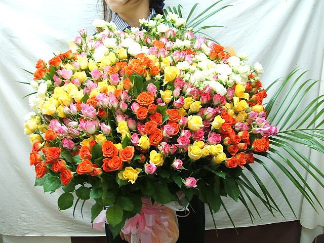 hanashinwa | Rakuten Global Market: 100 Roses rose bouquet carefully ...
