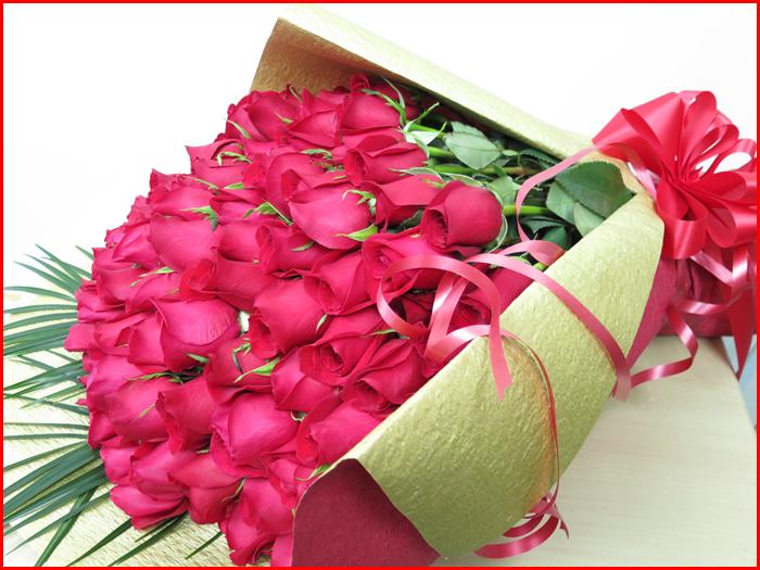 hanashinwa | Rakuten Global Market: 100 Roses Bouquet flowers ...