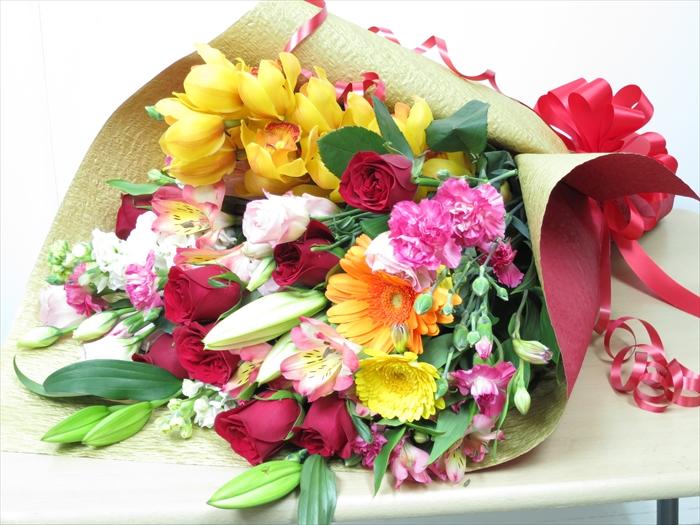 hanashinwa a bouquet of honshu birthday flower bouquet gift flower