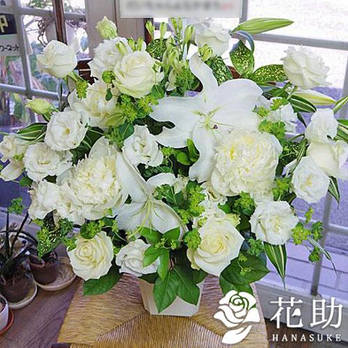 【アレンジメント花】フラワーコンシェルジュが厳選した花屋のユリ入りアレンジメント花 15000円 【楽ギフ_メッセ入力】