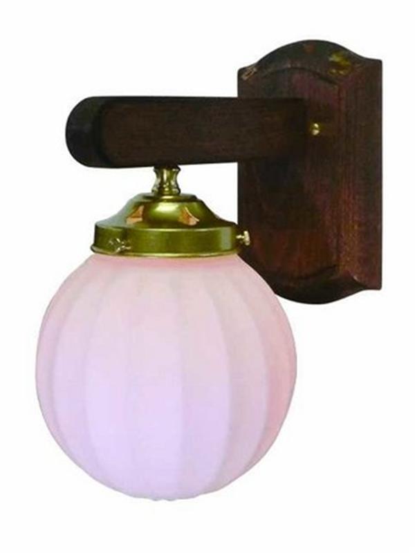 【ウォールランプ】サンヨウFC-WW015G 311 本体(ゴールド色)とシェードのセット 画像の商品です。