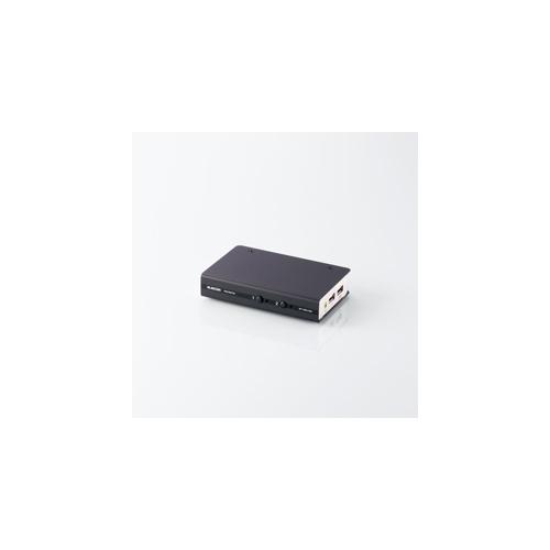 エレコム DVI対応パソコン切替器 大人気! KVM-DVHDU2 お買い得品