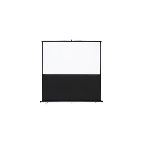 サンワサプライ プロジェクタースクリーン(床置き式) PRS-Y90HD