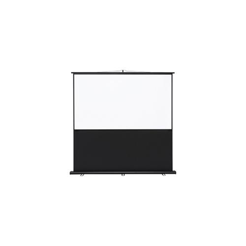 サンワサプライ プロジェクタースクリーン(床置き式) PRS-Y80HD
